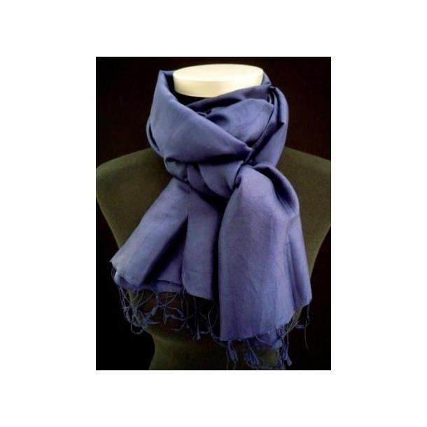 Camille 100% Silke, Navy Blue