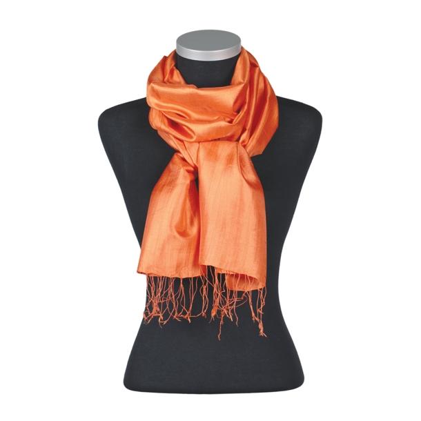 Camille 100% Silke, Orange