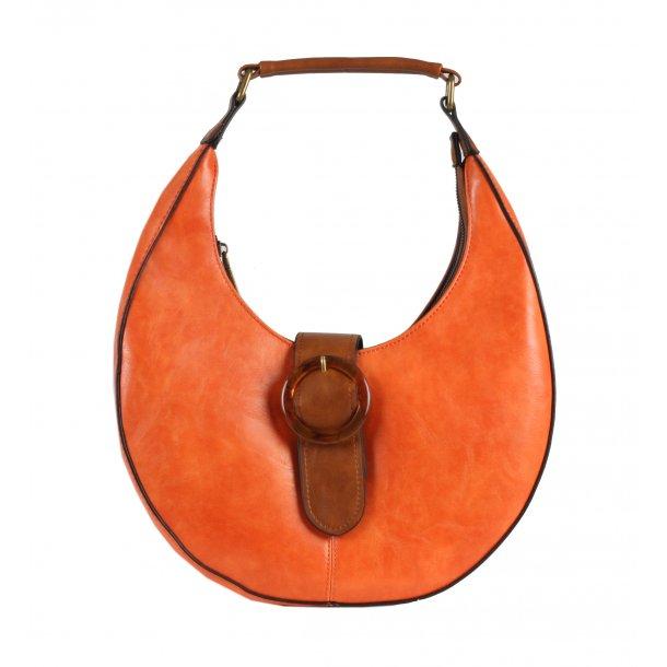 Rund taske - orange