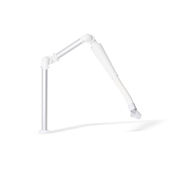 Superflex suction arm for table mounting