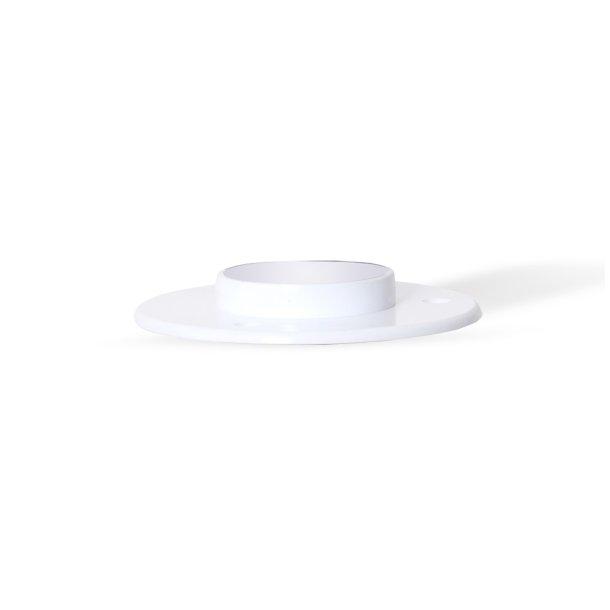 Flange for PVC, Ø40 mm, white