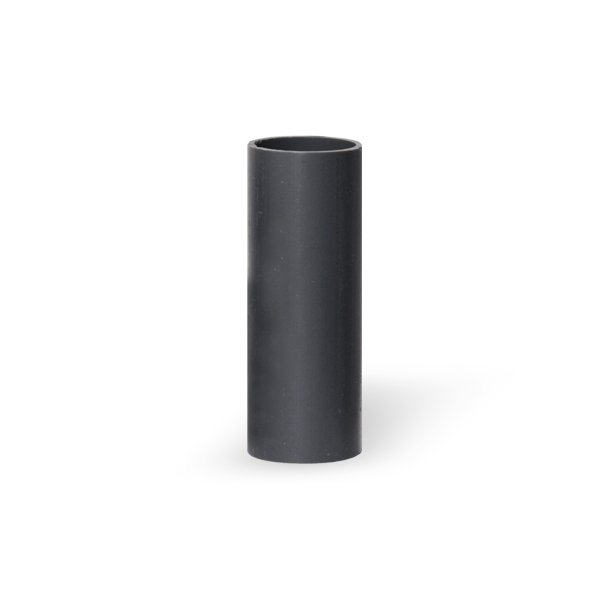 Pipe, Ø16 mm x 70 mm, grey