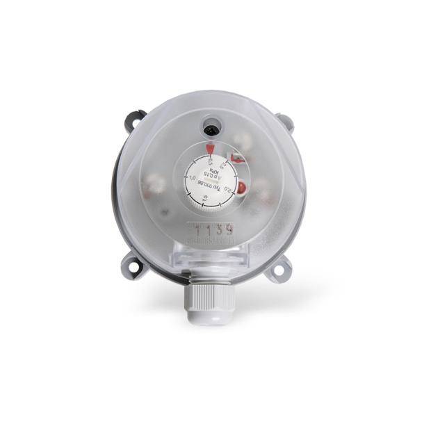 Pressure loss alarm 0,5 - 2,5 KPa