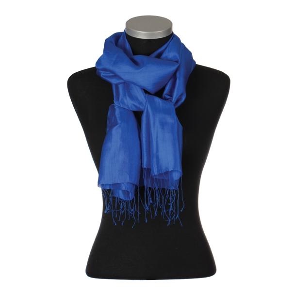 Camille 100% Silke, Electric blue